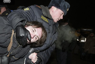 Russian Protests in Moscow